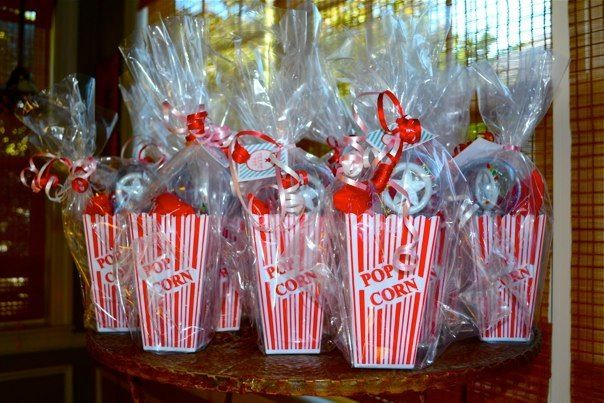 Goodie Bags for Carnival/circus birthday