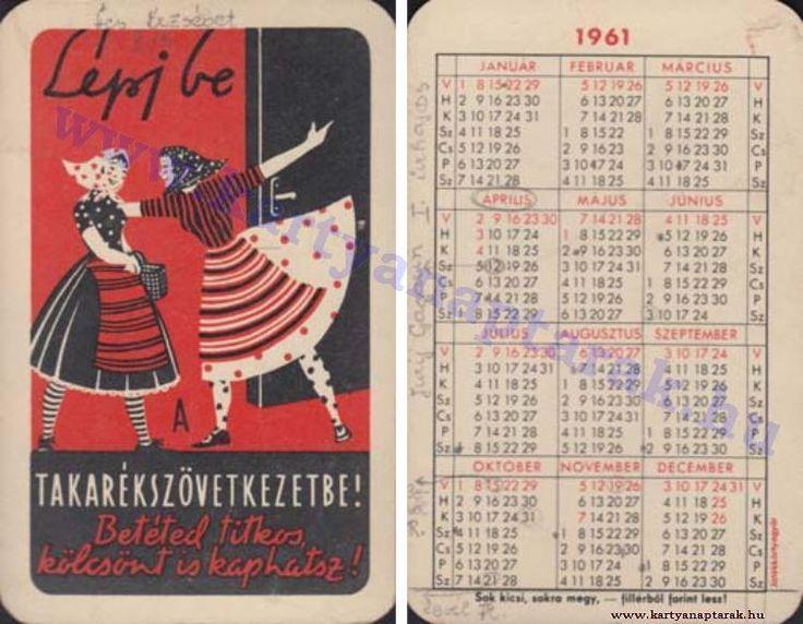 1961 - 1961_0071 - Régi magyar kártyanaptárak