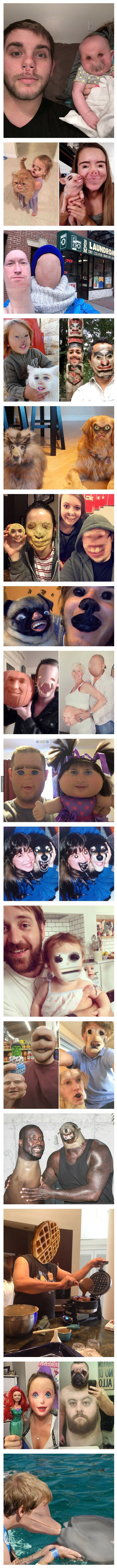 When faceswap is done horribly right! XD