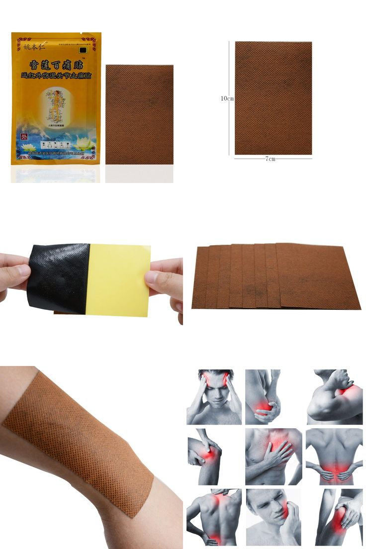 [Visit to Buy] 96Pcs Capsicum Plaster Pain Relief Patch Hip Knee Back Ankle Joint Pain Killer Tens Medical Plaster Shoulder Body Massage C569 #Advertisement