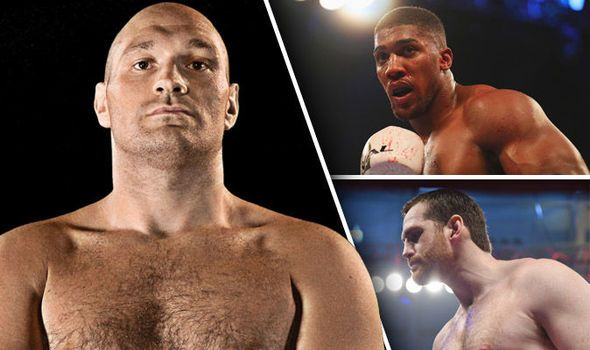 Tyson Fury next fight: Odds on Anthony Joshua David Price and Shannon Briggs