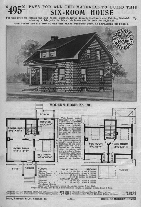 Find Old House Plans Here