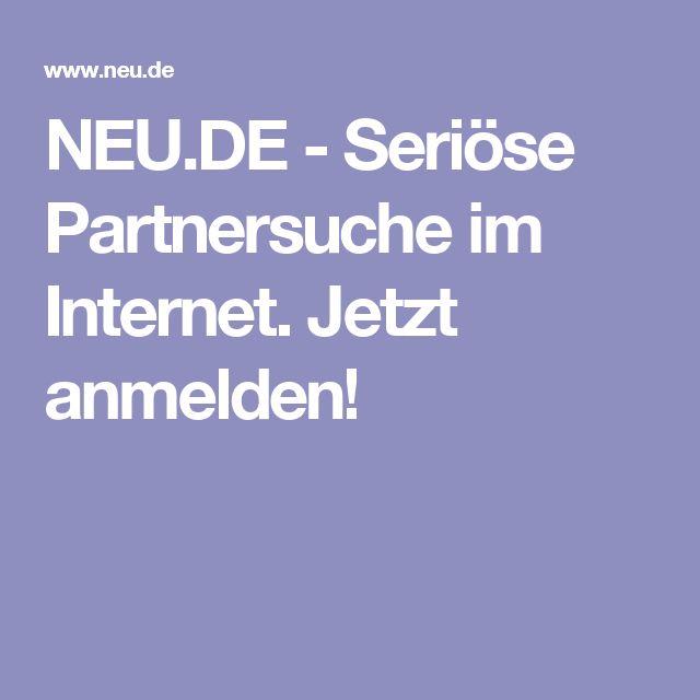 Seriöse partnersuche im internet kostenlos