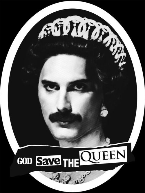 God save the Queen!