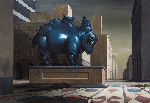 http://www.artgallery.nsw.gov.au/prizes/sulman/2014/29583/ - Ideal City by Neil Moore