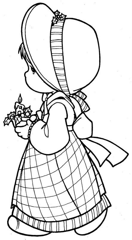 precious moments coloring pages autumn - photo#36
