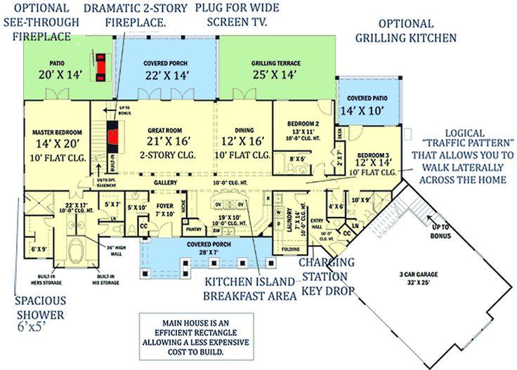 porch add on plans 803 best houseplans i like images on pinterest house floor plans