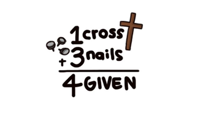 Forgiven because of Jesus