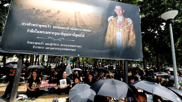 Thailand begins royal cremation for late King Bhumibol Adulyadej https://tmbw.news/thailand-begins-royal-cremation-for-late-king-bhumibol-adulyadej  Media playback is unsupported on your deviceMourners in Thailand are marking the main part of the five-day funeral ceremony for the country's late King Bhumibol Adulyadej.The revered king died in October 2016 aged 88.He will be cremated later on Thursday, in a royal pyre representing heaven to be lit by his son and successor to the throne, King…