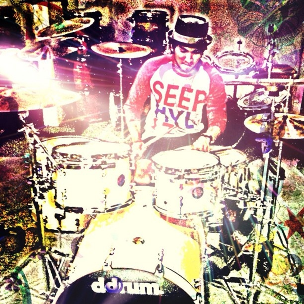 Ddrum / stagg cymbal / SPLZ - @ameclylapitbulldrums- #webstagram