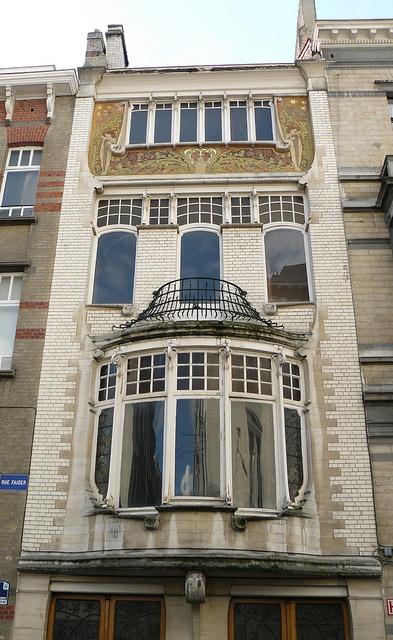 Bruxelles art nouveau belgique rue faider maison for Art maison deco