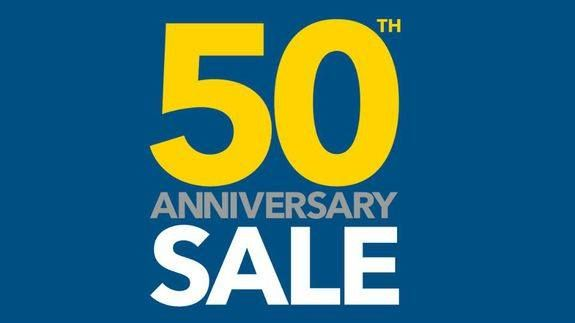 It's Best Buy's 50th birthday and that means cheaper iPhones MacBook Pros and PS4s -> http://mashable.com/2016/08/18/best-buy-50-hour-sale/   The first Best Buy store opened on Aug. 22 1966 meaning the retail chain's 50th birthday is just around the corner. To celebrate Best Buy has launched a 50-hour sale featuring 50 deals mostly on tech products.   The sale starts at 10 p.m. Central Time Thursday Aug. 18 and ends at 11:59 p.m. on Saturday Aug. 20.   SEE ALSO: Huawei's cheap dual-camera…
