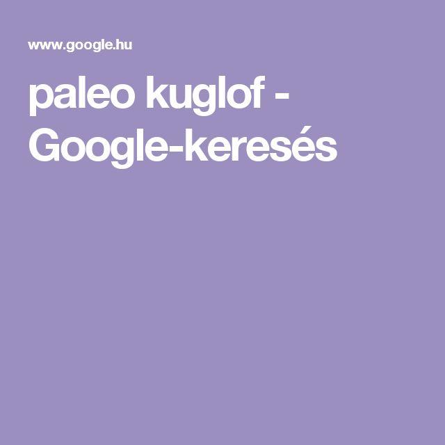 paleo kuglof - Google-keresés
