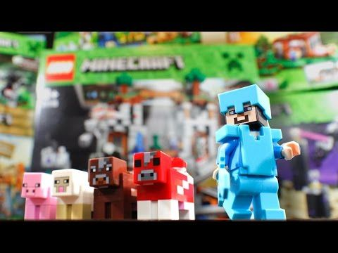 ▶ 6 NEW MINECRAFT LEGO SETS! (Building & Review) - YouTube