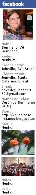 Estudei no Colégio Bom Jesus de Joinville, da primeira a quarta série, sempre de tranças...   Guardo boas lembranças e também um sentimen...