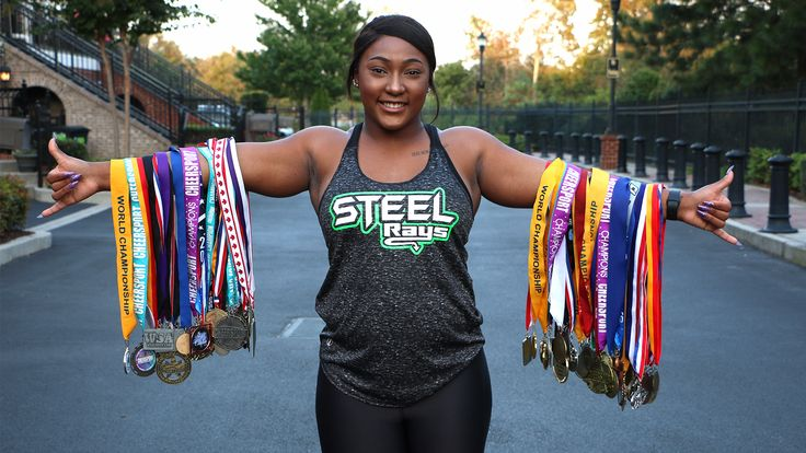 Angel Rice, also known as The Queen of Tumbling, shares her story, her secrets to success and how she almost walked away from cheerleading this season.