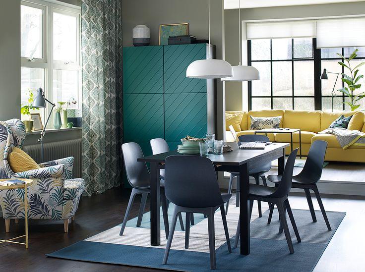 104 best IKEA Essplätze - zum Genießen images on Pinterest - esszimmer stuhle perfektes ambiente farbe