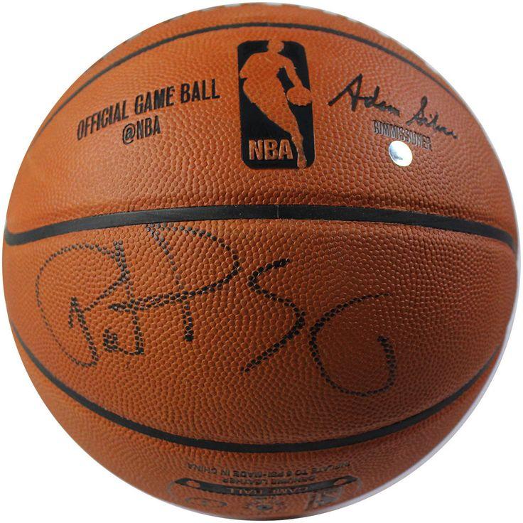 Patrick Ewing Signed Official NBA Basketball