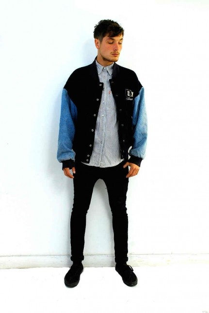 Men's vintage varsity jacket. Click to buy!