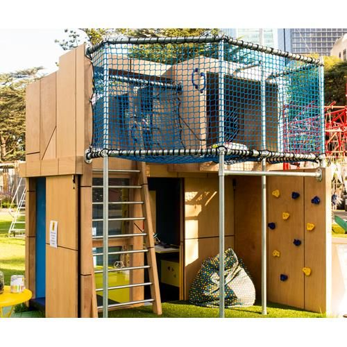 The Cubby House Challenge raises money for the Kids Undercover charity each year as part of the Melbourne International Flower and Garden Show.
