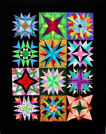 Carol Doak Mariner S Compass Stars Sampler Quilts