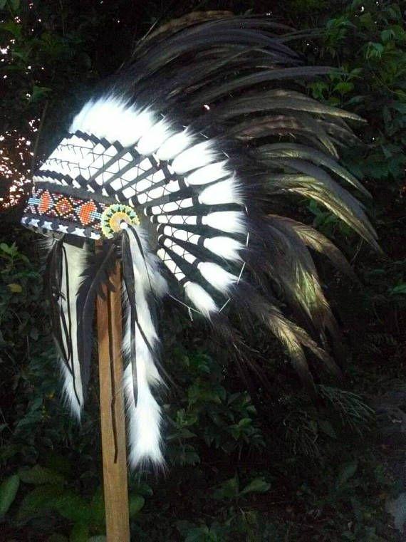 Indian Headdress replica Native American Warbonnet Style