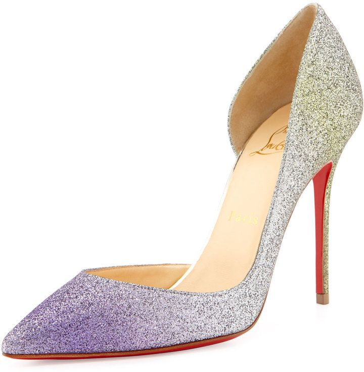 Find this Pin and more on Christian Louboutin Shoes. Shop for Iriza Degrade Glitter  Red Sole ...