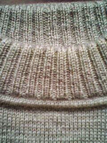 Модели вязания: Вывязывание горловины свитера. Подробно по ссылке МК фото