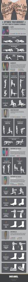 Ejercicios para piernas. Entrenador Personal Trainer Coach Madrid www.rubenentrenador.com