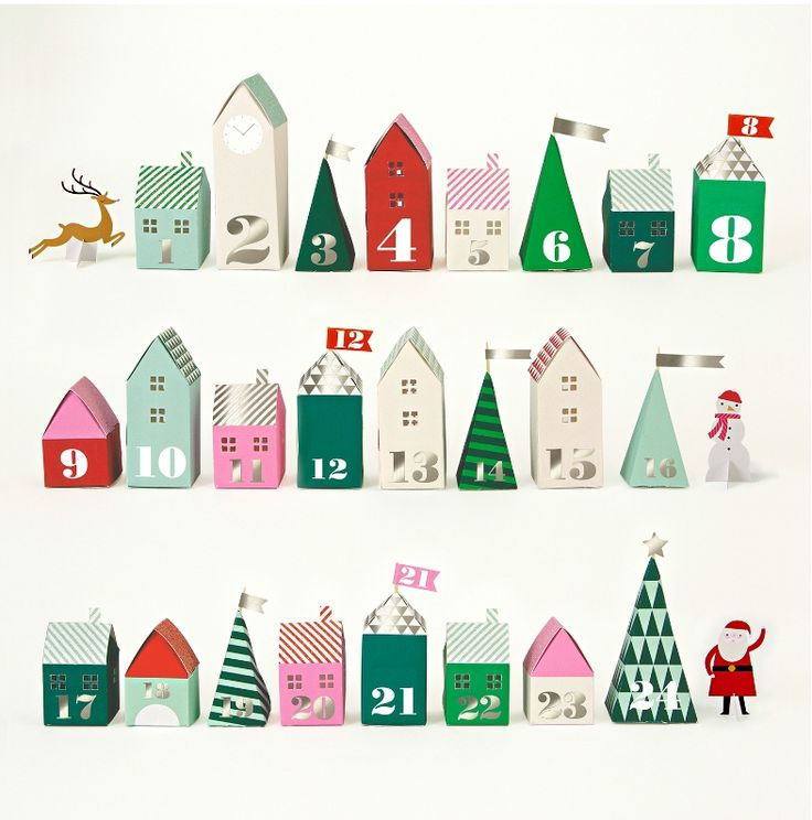 13 of the most beautiful, creative advent calendars - lots you can make yourself.
