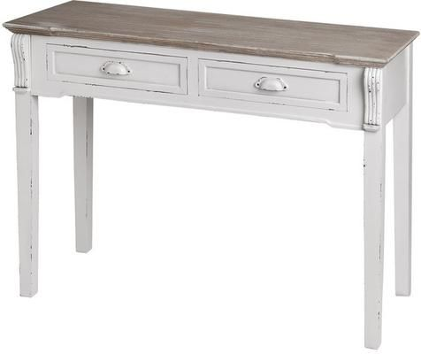 Provence White Console Table by Daisy West