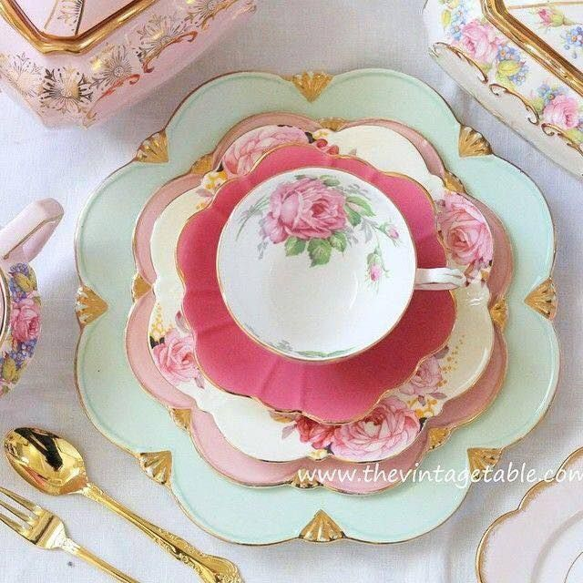 Splendid Combination Of Gorgeous China Patterns
