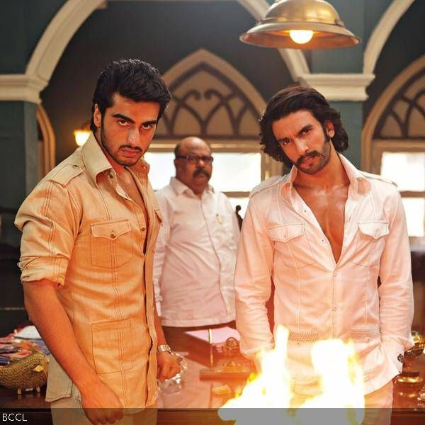 Arjun Kapoor and Ranveer Singh in a still from Yash Raj Films action drama Gunday.