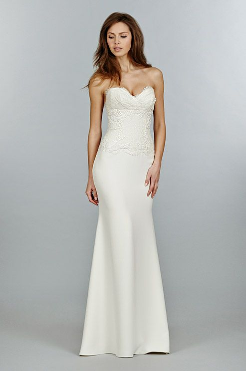 17 best images about strapless wedding dress on pinterest for Wedding dresses not strapless