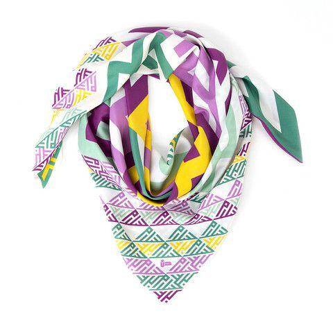noorsaab   Gibran   Luxury silk scarf