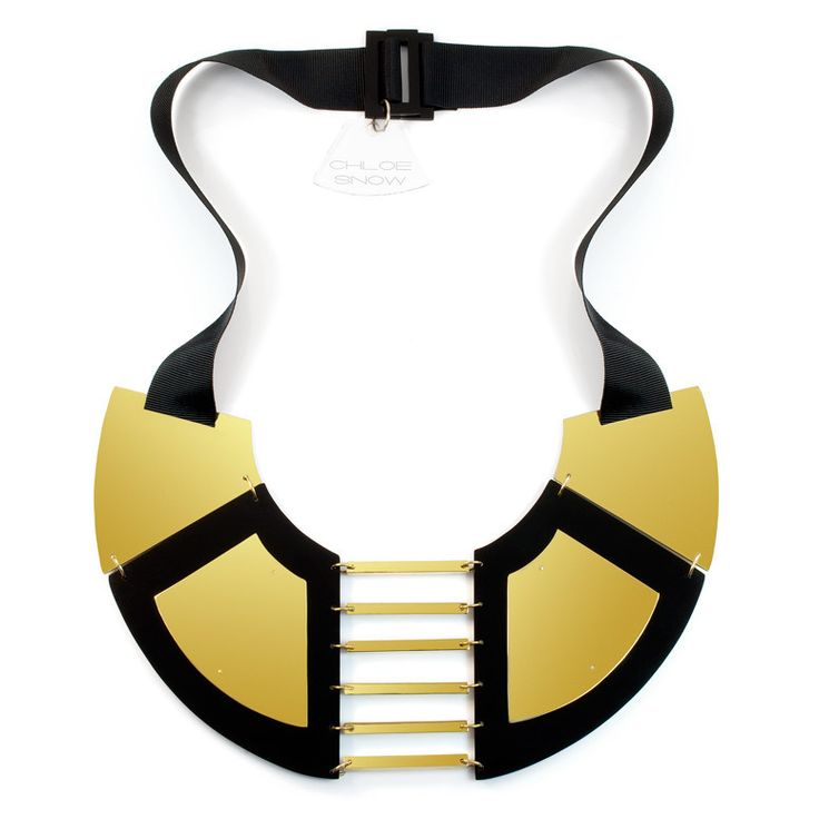 Radiant Necklace - Geometric Jewellery Collection by Chloe Snow