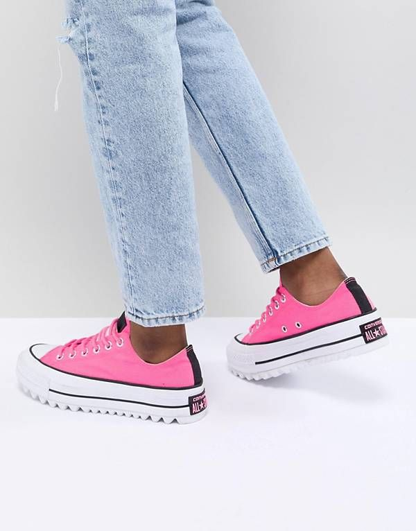 b9dc5219061 Converse Platform Ripple Sneakers In Pink | Shoes in 2019 | Sneakers ...
