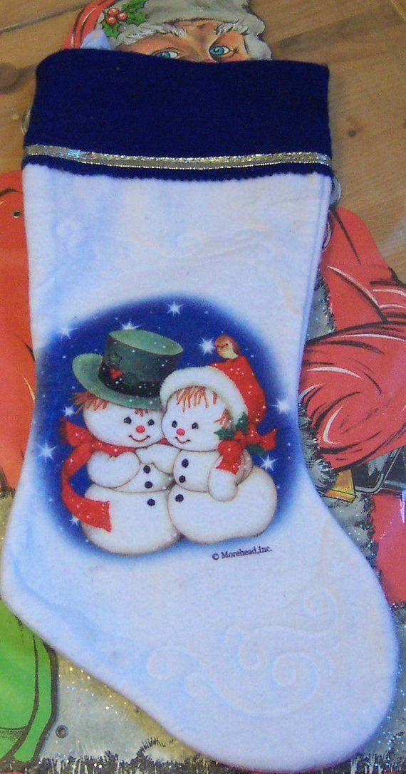 fleece morehead stocking