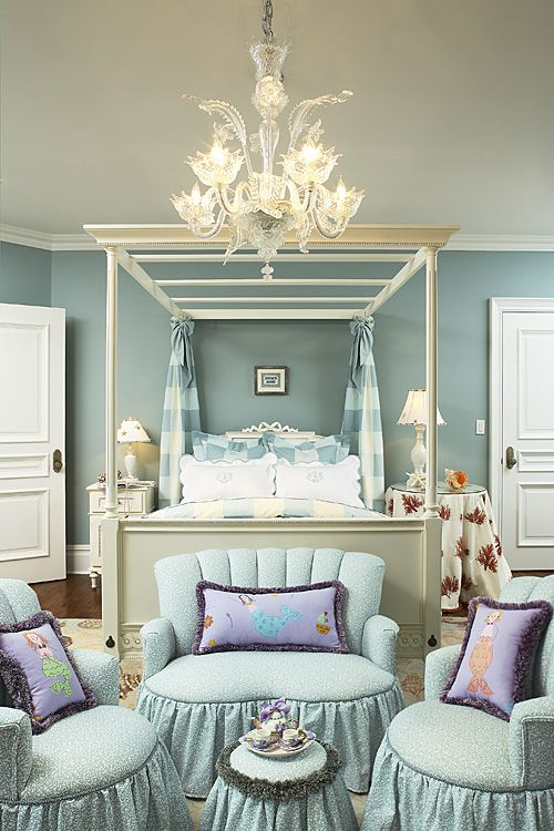 I'm not sure, this may be the most beautiful child's room I have ever se…