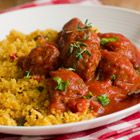 Give your next meal some spice and flavor with this Saucy Pork Medallion with Spiced Couscous recipe.