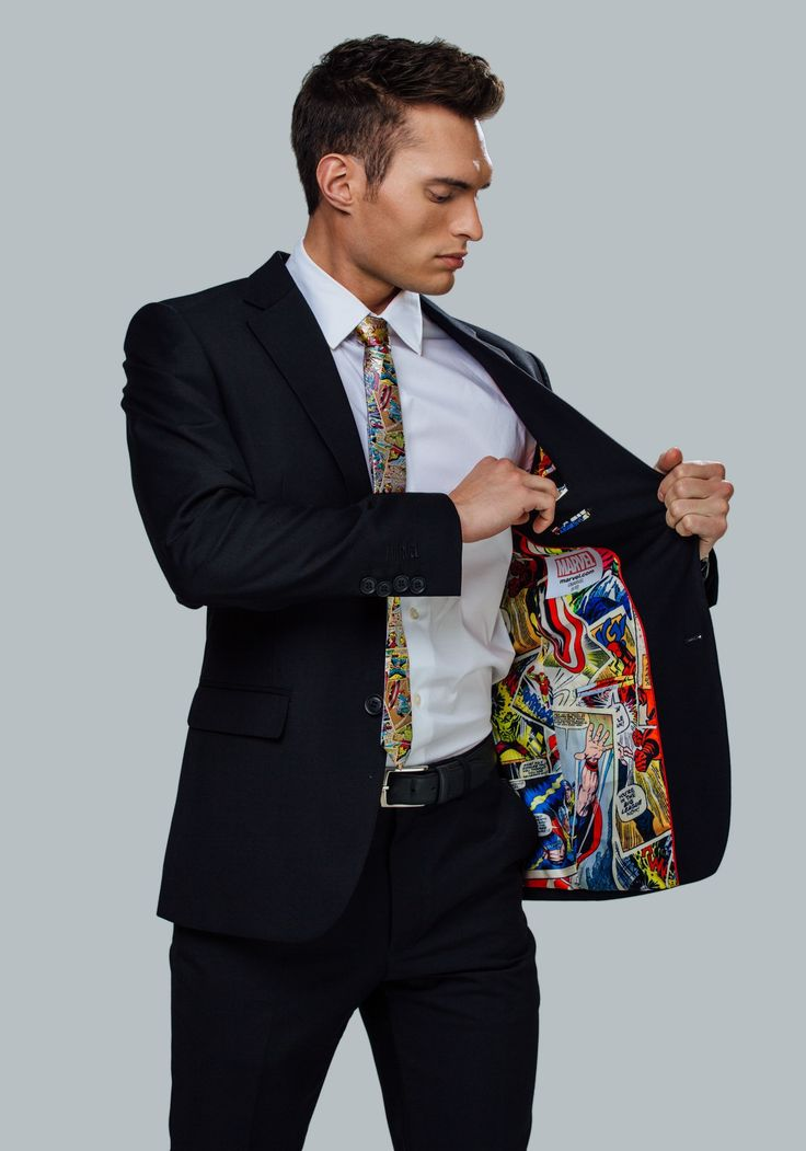 The new line of Marvel and DC business suits are here—and they're pretty amazing                                                                                                                                                                                 More