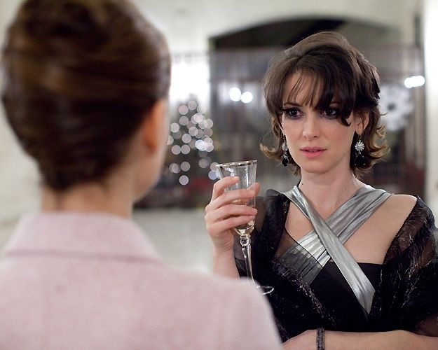 "Winona Ryder as Beth in ""Black Swan"" confronts Nina, played by Natalie Portman