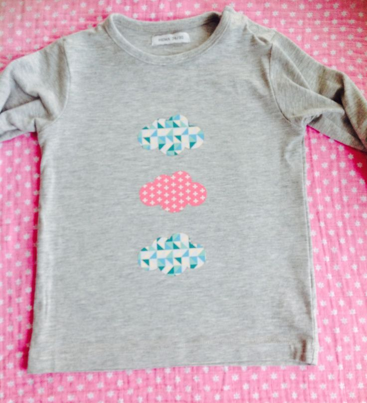 Tuto customisation t shirt bébé