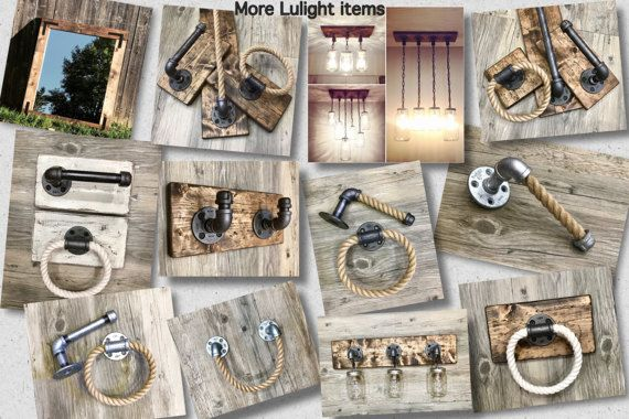 This handmade industrial, rustic design, one of a kind pipe rack will take you back to simple, ordinary things. It can be a great organizing choice for your hallway, entryway jackets or kids backpacks, kitchen towels, bathroom towels and robes, mudroom scarves or wraps, garage tool hanger and so much more .The neat combination of wood and pipe will make everyone stop, stare and wonder!  OVERVIEW: • Due to the nature of handmade, made to order items, please be aware the slight variations in…