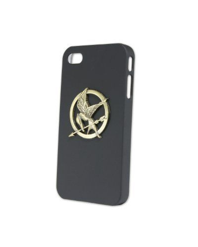 "NECA The Hunger Games Movie Iphone Sculpted Cover ""Mockingjay"" by NECA. $24.99. From the Manufacturer                Black sculpted iPhone4 case with the Mockingjay pin on the back of the case. NECA ""Offical"" Hunger Games movie merchandise."