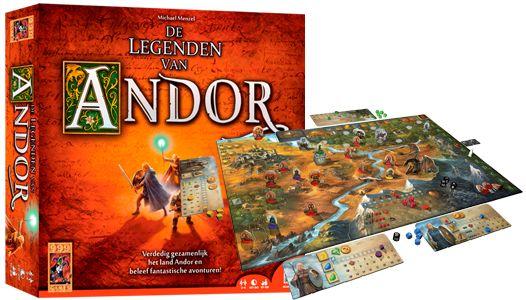 999 Games - De Legenden van Andor
