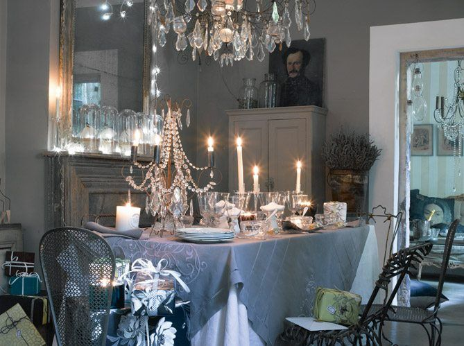 121 best images about la belle table on pinterest zara home tablecloths an - Deco table romantique ...