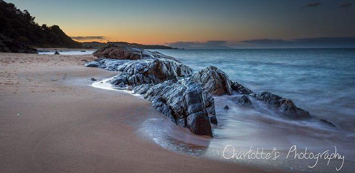 Pretty Beach sunset