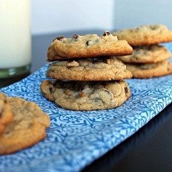Peanut butter truffles, Butter truffle and Chocolate chip cookies on ...
