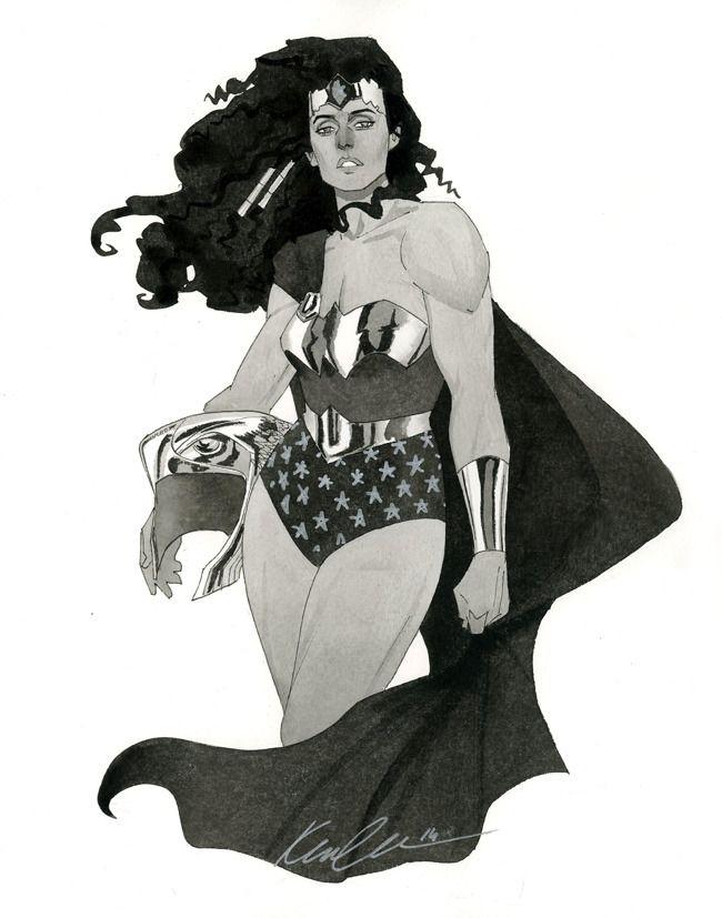Wonder Woman by Kevin Wada